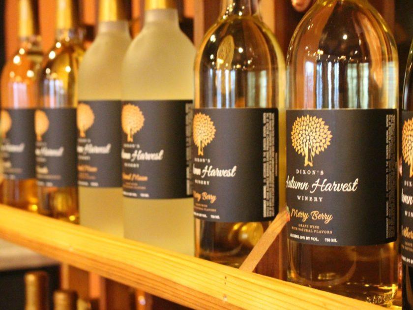 Dixon's Autumn Harvest Winery