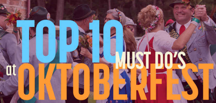 Top 10 Must-Dos at Oktoberfest
